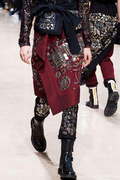 A.F. Vandevorst at Paris Fashion Week Spring 2016 - Details Runway Photos