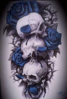 Rose Skull, hear no good, see no good, speak no good