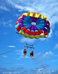 Discover Philippines Boracay Island Activities Parasailing - www. Boracay Philippines, Philippines Travel, Philippine Holidays, Boracay Island, Birds In The Sky, Travel Tours, Travel Guide, Parasailing, Best Sunset