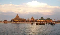 One of my favorite beach bars, Juana's Pagodas Navarre Beach, FL