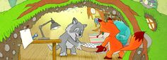 Maggy and Max by Stefanie Schurich hatch 30 eggs in the fox den – Maggy & Max Book Pages, Books Online, Fox, Illustration, Image, Illustrations, Foxes