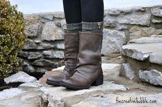 ~boot socks cute -