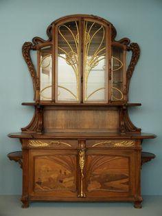Sideboard, Emile Galle, ca. 1903, Virginia Museum of Fine Arts, Richmond, VA   JV