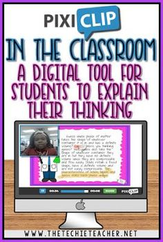 Pixiclip is a digital tool that can easily be integrated into any classroom. Works on laptops, computers and Chromebooks!