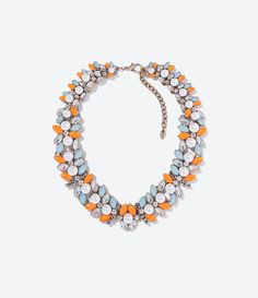 ZARA - WOMAN - STONES AND PEARLS NECKLACE