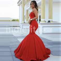 $139.99 Long Red Mermaid Sweetheart Sleeveless Zipper Prom Dresses 2018products_id:(1000075483 or 1000075461 or 1000074917 or 1000074984 or 1000073444)