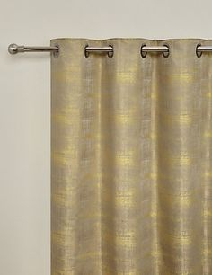 Painterly Jacquard Eyelet Curtains | M&S