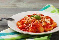 Ñoquis con tomate