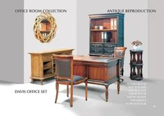 Classic furniture   antique classic wood furniture   fine furniture Reclaimed Furniture, Rattan Furniture, Fine Furniture, Furniture Projects, Furniture Sets, Furniture Catalog, Furniture Collection, Tropical Dining Sets, Classic Cabinets