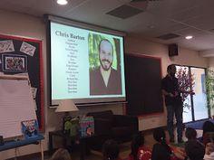 Ms. Simons' Class Blog: Visiting Author: Chris Barton
