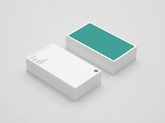 Minimal Business Card Designs. Very fond of the small type. Interesting approach