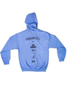 Shadow Hill Carolina Blue Oversized Merch Hoodie