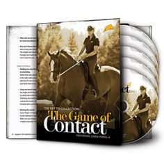 Linda's Game of Contact: how to help the horse increasing his confidence