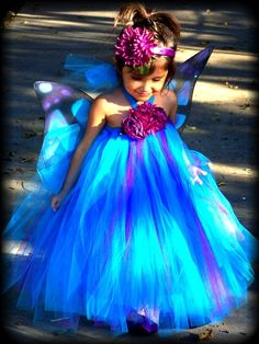 Blue Fairy Princess ~ Nurture the beautiful, the divine, the lovely. Begin early and never let go of the dream.