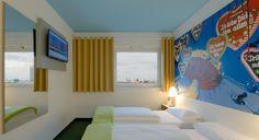 Zweibettzimmer im B&B Hotel München City-West