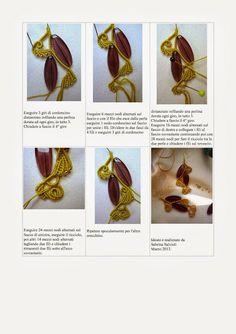 il macramè di sabrina: orecchini