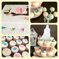 Baby shower cakes by Jacklen www.facebook.com/bellacakehouse