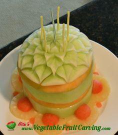 frank and nita's cake made of fruit