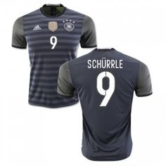 Tyskland 2016 Schurrle 9 Borte Drakt Kortermet.  http://www.fotballteam.com/tyskland-2016-schurrle-9-borte-drakt-kortermet.  #fotballdrakter