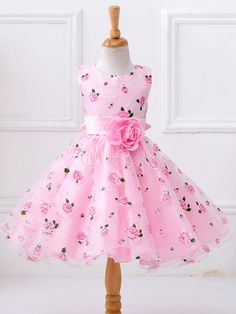 Flower Girls Dresses Kids Sleeveless Princess Dress For is cheap, come to NewChic and buy cute flower girl dresses now! Toddler Pageant Dresses, Girls Party Dress, Little Girl Dresses, Baby Dress, Girls Dresses, Party Dresses, Tutu Dresses, Prom Gowns, Dance Dresses