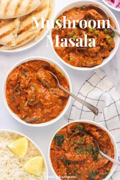 Instant Pot & Stovetop Recipes. EASY and healthy Mushroom Masala cooked in a creamy tomato based sauce and aromatic spices. #ministryofcurry #indianfood Healthy Indian Recipes, Best Vegetarian Recipes, Curry Recipes, Instant Recipes, Instant Pot Dinner Recipes, Instant Pot Curry Recipe, Stove Top Recipes, Mushroom Gravy, Biryani Recipe