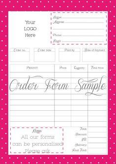 Rental application form template sample rental for Food pre order form template