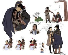 Haytham and Ziio doodly-dump I should get back to work