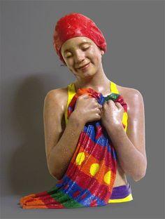 Los Nadadores de Carole Feuerman