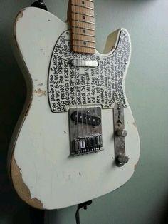 Very interesting looking Telecaster #Guitar…