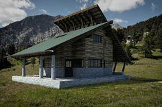 https://flic.kr/p/FC9UER   Casa Drive Arq. Carlo Mollino   Projeto do arquiteto Carlo Mollino para uma casa em Claviere, Itália