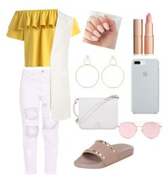 """Untitled #7"" by krvepami on Polyvore featuring Valentino, Chicwish, Natasha Schweitzer, Furla, WearAll, LMNT and ETUÍ"