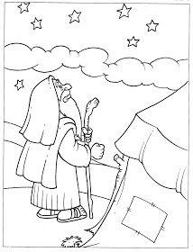 http://bibliaeaciencia.blogspot.com.br/2010/12/desenhos-biblicos-para-colorir-abraao.html#.Uriy4NJDs8q Abraão e Sara Atividades A...
