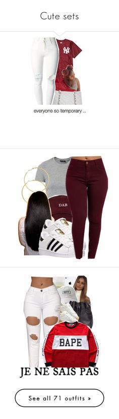 """""""Cute sets"""" by kaykay47 ❤ liked on Polyvore featuring Timberland, Chanel, (+) PEOPLE, New Look, Melissa Odabash, The High Rise, adidas, Davines, Proenza Schouler and Puma"""