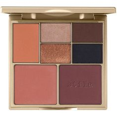 Stila Perfect Me, Perfect Hue Eye & Cheek Palette (€32) ❤ liked on Polyvore featuring beauty products, makeup, eye makeup, eyeshadow, beauty, eyes, faces, filler, stila eyeshadow and stila eye shadow