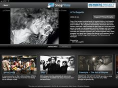 """SnagFilms (iPad, FREE)  an ad-supported online repository that houses free documentary films, brings its library to the iPad with this free mobile app. You can stream such flicks as """"A to Zeppelin: The Story of Led Zeppelin,"""" """"Amazing Masters of Martial Arts,"""" and more. You won't find Michael Bay's latest blockbusters (for better or for worse), but if you're in the mood for something different, give it a download."""