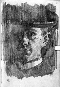 Drawing by Adolf von Menzel Guy Drawing, Life Drawing, Drawing People, Figure Drawing, Drawing Sketches, Painting & Drawing, Adolf Von Menzel, Illustrator, Art Studies