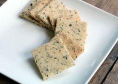 Cozinha sem glúten e sem leite: Crackers Vegan de Ervas Finas