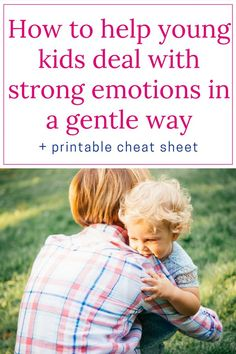 Positive discipline - Managing strong emotions: If you are looking for solutions on how to help young kids deal with strong emotions, I hope that you\'ll find some good ideas in this article. | Gentle parenting tips | Managing emotions | Handling tantrums | Developing emotional intelligence | Talking with kids about emotions #PositiveDiscipline #GentleParenting #ParentingTips #RaisingKids