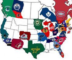 NHL, just move ATL up to Winnipeg.