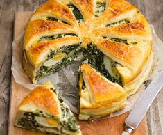 Spanakopita, Easter Recipes, Vegetables, Ethnic Recipes, Kitchen, Anna, Instagram, Cooking, Kitchens