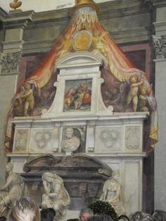 #Michelangelo's Tomb, Basilica di Santa Croce - Florence, #Italy