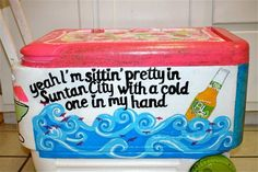 Decorate coolers for birthdays and parties, bbqs and picnics