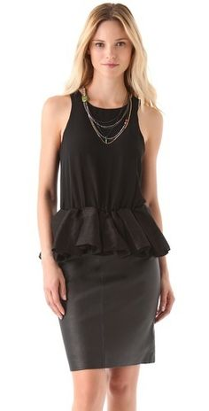 Blaque Label Sleeveless Peplum Top        $24.60