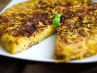 Omelette de pâtes