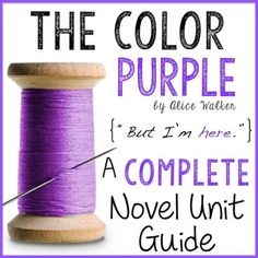 The Color Purple, by Alice Walker, is a wonderful novel every student should read before he or she graduates. This COMPLETE UNIT…