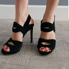 Zara Leather Strapy High Heel Sandal