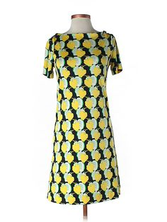 The bright print on the Tory Burch dress is an instant smile!