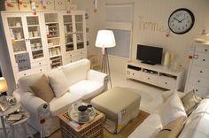 IKEA Delft | Living Room | EKTORP | HEMNES | Traditional | white interior | www.ikea.com