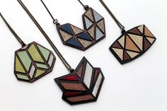 Recycling Laminate into Laser Cut Jewellery | Just Add Sharks