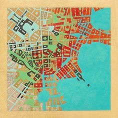 Codes - Imaginary maps of nonexistent cities Federico Cortese mixed media drawings, oil and pencil on paper, 30 x 30 cm. Map Diagram, Imaginary Maps, Map Quilt, Conceptual Drawing, Map Design, Design Ideas, Graphic Design, City Maps, Illustrations